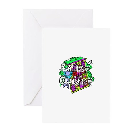 Crazy Quilter Greeting Cards (Pk of 20)
