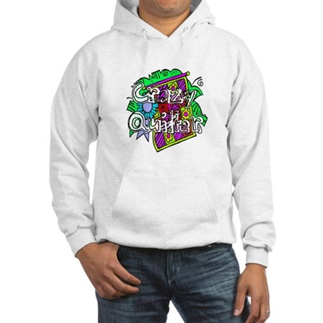 Crazy Quilter Hooded Sweatshirt
