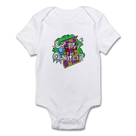 Crazy Quilter Infant Bodysuit