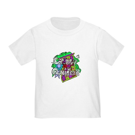 Crazy Quilter Toddler T-Shirt