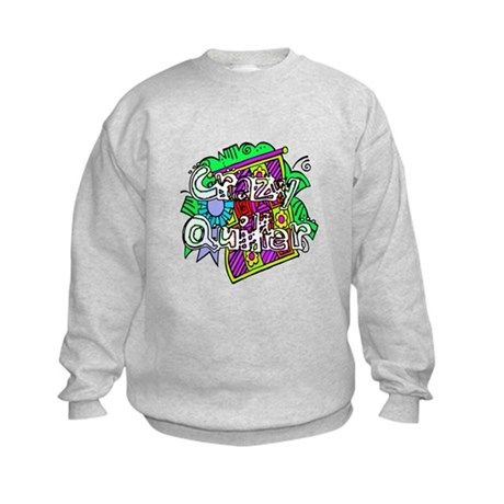 Crazy Quilter Kids Sweatshirt