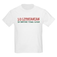 Half Lithuanian T-Shirt