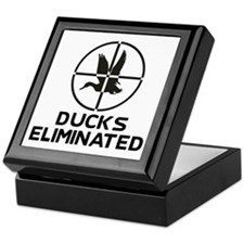 Ducks Eliminated Keepsake Box