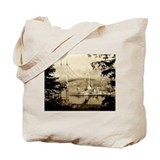 Cool Us navy Tote Bag