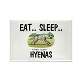 Eat ... Sleep ... HYENAS Rectangle Magnet (10 pack