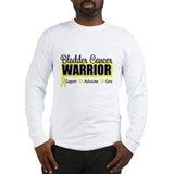 Bladder Cancer Warrior Long Sleeve T-Shirt