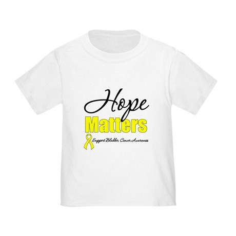 HopeMattersBladderCancer Toddler T-Shirt