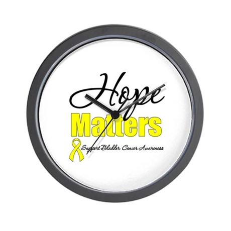 HopeMattersBladderCancer Wall Clock