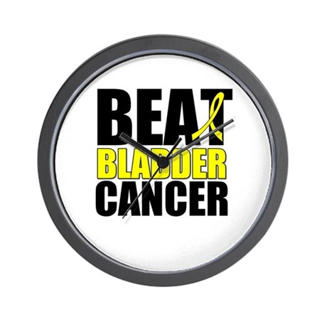 Beat Bladder Cancer Wall Clock