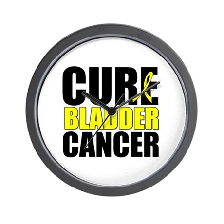 Cure Bladder Cancer Wall Clock