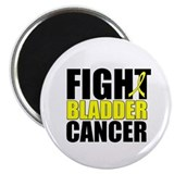 "Fight Bladder Cancer 2.25"" Magnet (10 pack)"