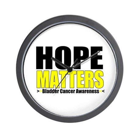 HopeMatters BladderCancer Wall Clock