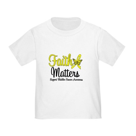 FaithMatters Bladder Cancer Toddler T-Shirt