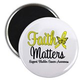 "FaithMatters Bladder Cancer 2.25"" Magnet (10 pack)"