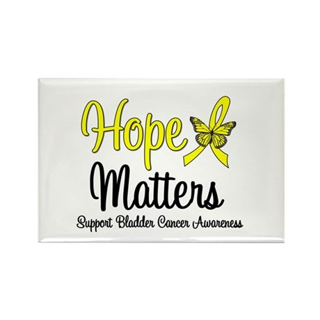HopeMatters BladderCancer Rectangle Magnet
