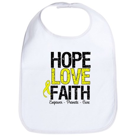 HopeLoveFaith BladderCancer Bib