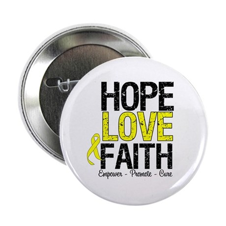 "HopeLoveFaith BladderCancer 2.25"" Button"