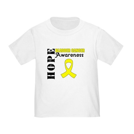 Hope Bladder Cancer Toddler T-Shirt