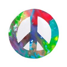 "Peace Sign 3.5"" Button (100 pack)"