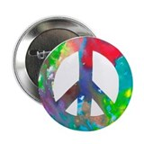 "Peace Sign 2.25"" Button (10 pack)"