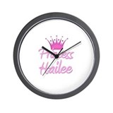 Princess Hailee Wall Clock