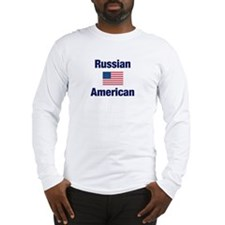 Russian American Long Sleeve T-Shirt
