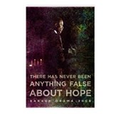 There has never been anything false about hope. Po