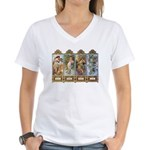 Four Seasons Women's V-Neck T-Shirt