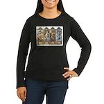Four Seasons Women's Long Sleeve Dark T-Shirt