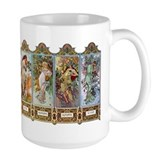 Four Seasons Ceramic Mugs