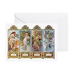 Four Seasons Greeting Cards (Pk of 10)