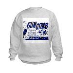Gun Girls Kids Sweatshirt