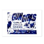 Gun Girls Postcards (Package of 8)