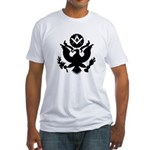Masonic Eagle Crest Fitted T-Shirt