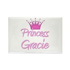 Princess Gracie Rectangle Magnet (10 pack)