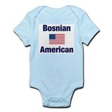 Bosnian American Infant Bodysuit