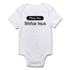 Obey the Shiba Inus Infant Bodysuit