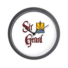 Sir Gerard Wall Clock