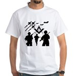 Freemasons Defending Freedom White T-Shirt