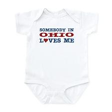 Somebody in Ohio Loves Me Infant Bodysuit