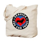 A Welsh Corgi's Heart Tote Bag