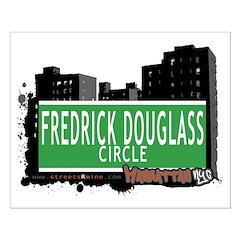 FREDRICK DOUGLASS CIRCLE, MANHATTAN, NYC Posters