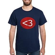 Less Than Three Heart T-Shirt