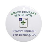 BCO 3RD 47TH Ornament (Round)