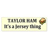 Taylor Ham Bumper Sticker (50 pk)