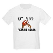 Eat ... Sleep ... FIDDLER CRABS Kids Light T-Shirt