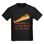Protocol is Applause Kids Dark T-Shirt
