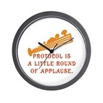 Protocol is Applause Wall Clock