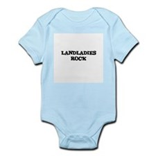 LANDLADIES  ROCK Infant Creeper