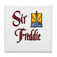Sir Freddie Tile Coaster